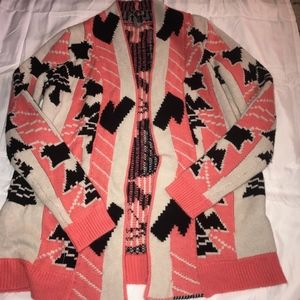Thick Patterned Cardigan
